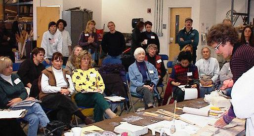 participants watch Lana